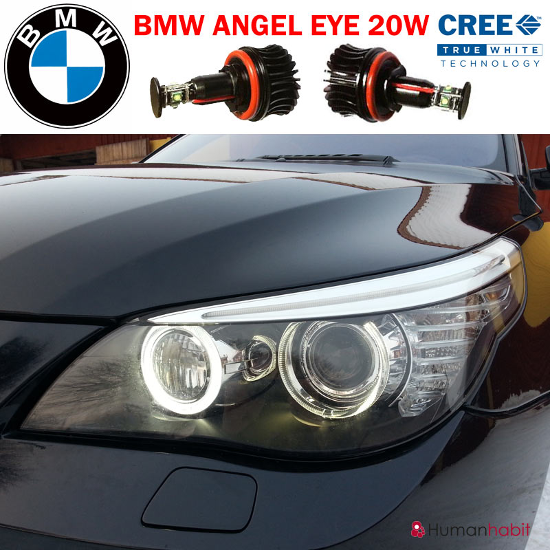sunshineled ab h8 cree 20w bmw angel eyes. Black Bedroom Furniture Sets. Home Design Ideas