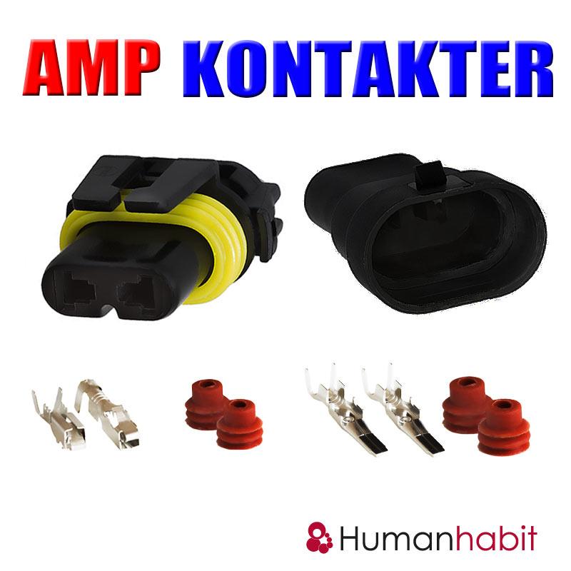 Amp kontakter