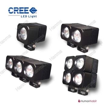 10W LED miniatyr 40° CREE 12-24V