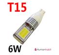 T15 COB 6W Super bright 9-30V