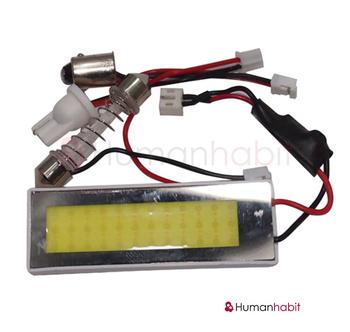 COB chip panel 48*0.5W non-polarized 12-24V