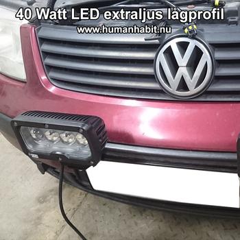 60W CREE LED extraljus 16200 lumen L0107