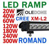 20-300W LED ramp CREE Oledone Romand V10-series