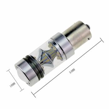 LED dimljuslampa 2-pack 1200 lumen 20W Philips chipset valbar lampsockel