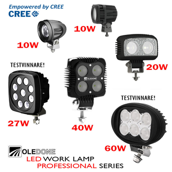 20W LED ramp CREE Oledone WD-20N10
