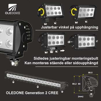 40W LED ramp CREE Oledone WD-40N10