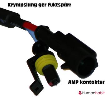 AMP anslutningskontakt