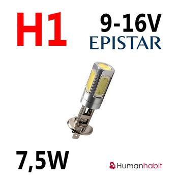 H1 dimljus 7.5W non-polarized 9-16V