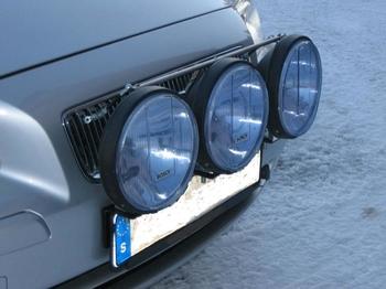 Quick-Light avtagbart stabiliseringsstag 2 pack med kulled för extraljus etc.