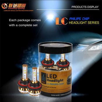 LED konvertering 3900 lumen med Philips chipset 8-32V