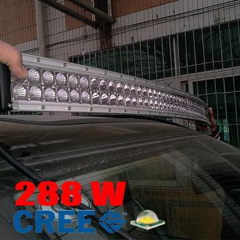 288W LED ramp CREE XB-D curved E-mark 1341 mm