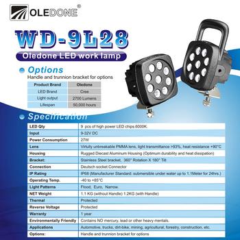 4 pack 27W + 2 pack 60W CREE LED flerpack rabattköp OLEDONE® 9-32V