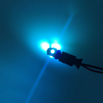 T10 styling med 5st 5050 SMD med valbara färger - passar 12 Volt