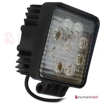 27W LED spotbelysning 30° Epistar 12-24V