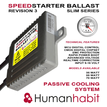 35 Watt 9-16 Volt slim canbus speedstarter ballast