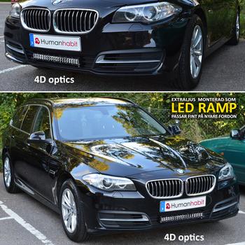 126W LED extraljusramp 505mm CREE 9-32V combo LB0034