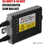 35 Watt 9-16 Volt slim speedstarter ballast
