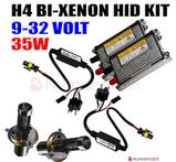 35w H4 mini bi-xenon kit reläkabellös