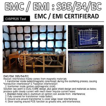 D2S / D2R original E13 reservdelsballast 9-32V