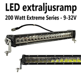 200W LED extraljusramp combo E-märkt 580mm