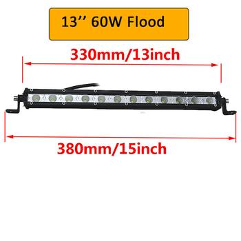 Mini LED extraljusramp COMBO valbar 30W-180W 9-32V