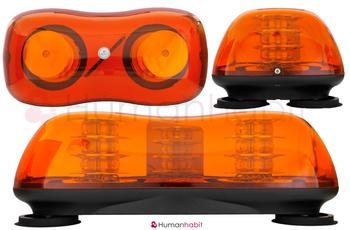 LED blixtljusramp 419mm ECE R10 R65 - BKL0001