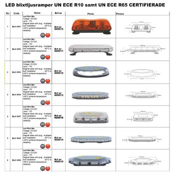 LED blixtljusramp 420mm ECE R10 R65 - BKL0006