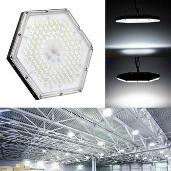 100W samt 300W LED strålkastare för vägg/takmontage, montering på lyktstolpe
