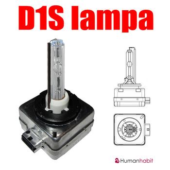 D1S Original Xenonlampa Extreme +50% Powerplus